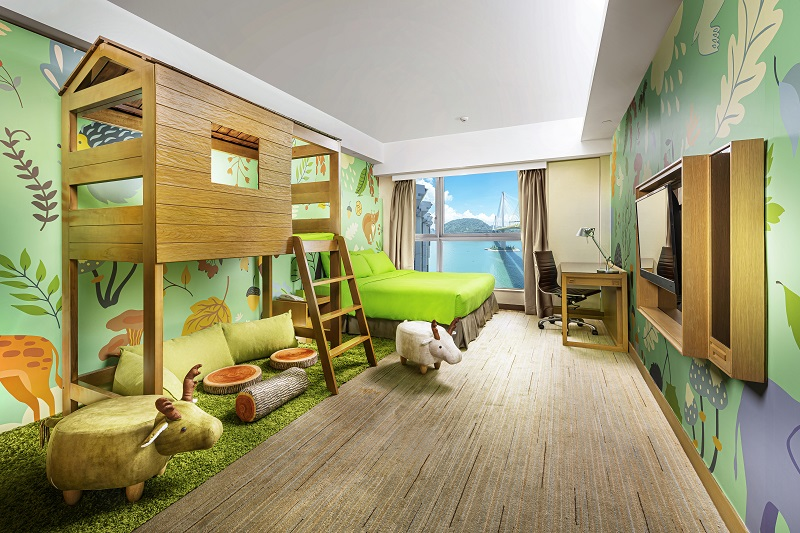 Forest Themed Room