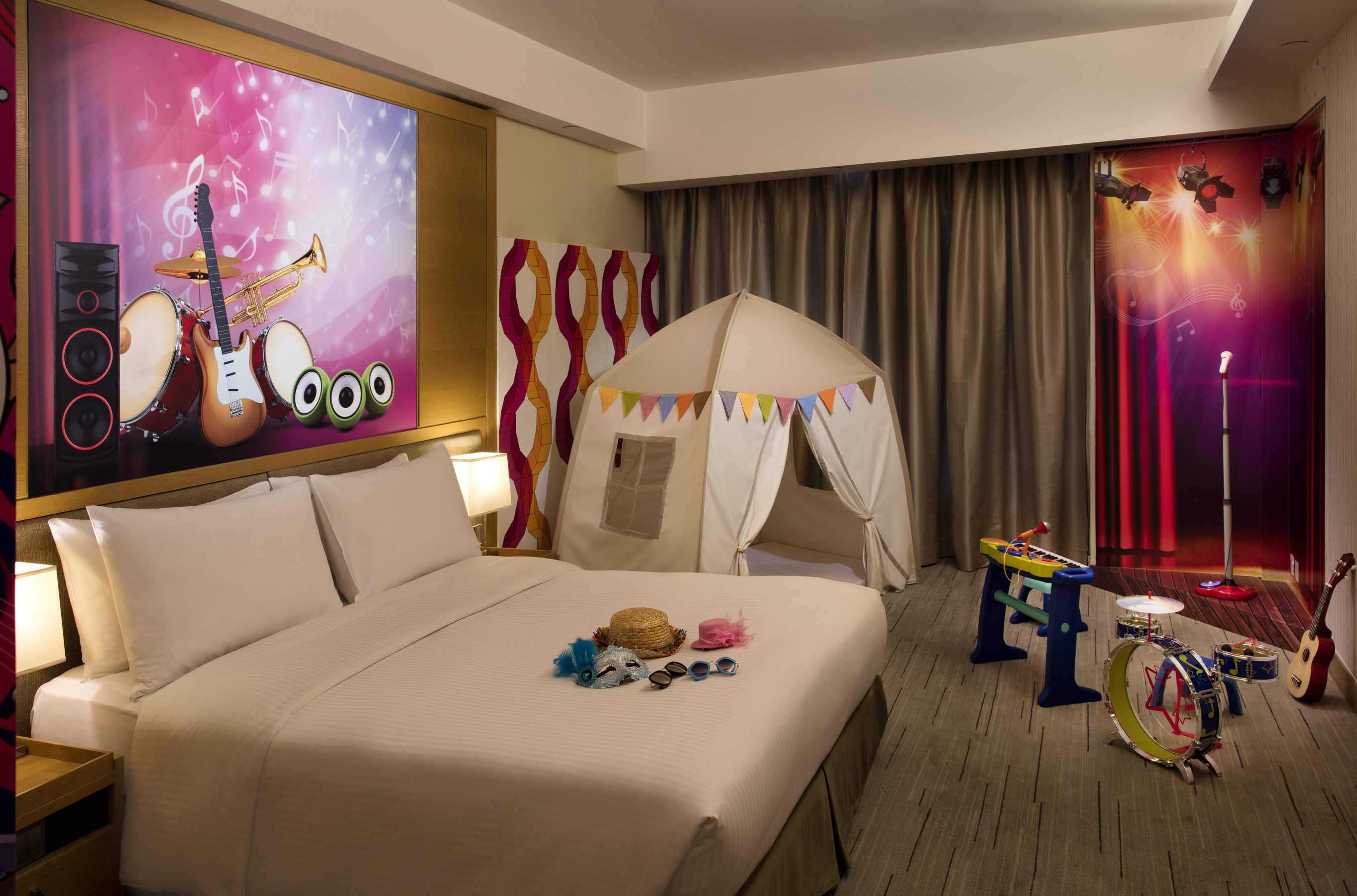 Vibe Music Themed Room